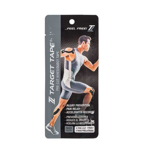 comprar cinta kinesiologica target tape blister negro