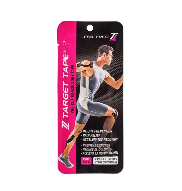 Comprar Cinta kinesiologica Target Tape blister rosa